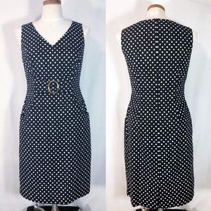 Tahari | Polka Dot Dress